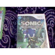 Sonic And The Black Night Nuevo Sellado Wii Blacknight