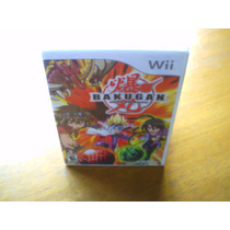 Bakugan Battle Brawlers Wii Nuevo Y Sellado