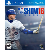 Mlb The Show 16 Mvp Edition - Ps4 - Playstation 4