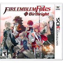 Fire Emblem Fates Birthright - Nintendo 3ds. New 3ds Fgk