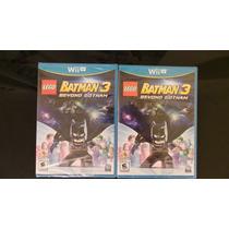 Lego Batman 3 Wii U Nuevo, Sellado