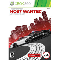 Need For Speed Most Wanted - Xbox 360 - Nuevo