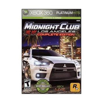 Midnight Club Los Angeles Edicion Completa - Xbox 360 Nuevo