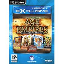 Pack 5 En 1 Age Of Empires 1 Y 2 Con Sus Expansiones Y Bonus