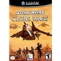 Star Wars The Clone Wars Game Cube Wii