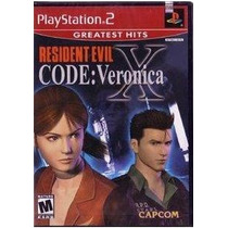 Resident Evil Code Veronica X Ps2