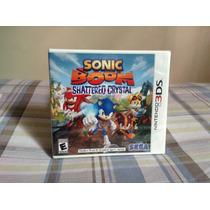 Sonic Boom Shattered Crystal Nintendo 3ds Nuevo Sellado