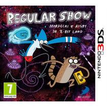 Regular Show Un Show Mas Nintendo 3ds Nuevo Blakhelmet E