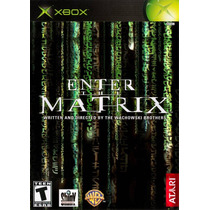 Xbox The Enter Matrix Platinum Hits Seminuevo Envio Grt Mdn