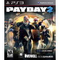 Payday 2 Nuevo Sellado Playstation Ps3