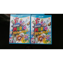 Super Mario 3d World Wii U Nuevo, Sellado