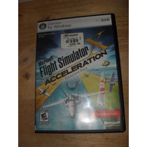 Pc Microsoft Flight Simulator X Acceleration En Español