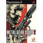 Metal Gear 2 Sons Of Liberty Ps2 * En Ingles
