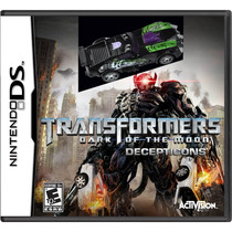 Transformers Dark Of The Moon Nintendo Ds Nuevo Original Mdn