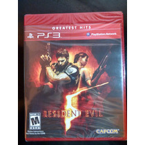 Resident Evil 5 Ps3 Nuevo Fisico Sellado Meses Sin Intereses
