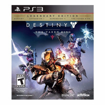Destiny The Taken King Edicion Legendaria Ps3 Pakogames