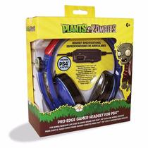Headset Edición Plants Vs Zombies Especial Para Ps4