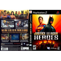 Justice League Heroes Ps2 *