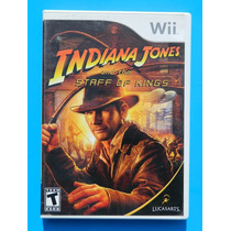 Juego Nintendo Wii Indiana Jones Staff Of Kings Como Nuevo