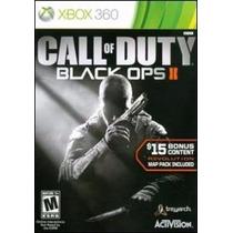 Call Of Duty Black Ops Ii Con Mapas Extras Xbox 360 Nuevo
