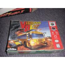 Vigilante 8 Nintendo 64 N64 Nuevo!!! Sellado Aun En Celofan