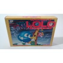Adventures Of Lolo 2 Nintendo Famicom Nes Fc