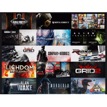 5 Juegos Steam Al Mejor Precio Cd-key Steam Pc