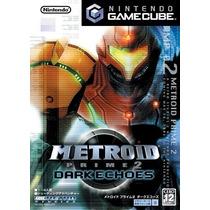 Metroid Prime 2 Dark Echoes Game Cube Japones