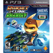 Ps3/vita Ratchet & Clank Full Frontal (mercado Pago Y Oxxo)
