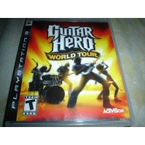 Playstation 3 Guitar Hero World Tour