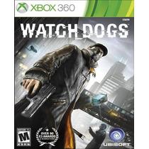 Watch Dogs Para Xbox 360 Nuevo Y Sellado