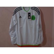 Short / Playera / Chamarra Adidas Orig. Sele. Mex. Man.larga