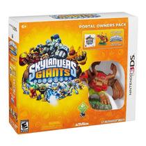 Remate Skylanders Giants Portal Pack Para Nintendo 3ds Nuevo