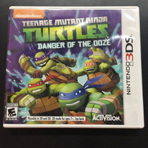 Teenage Mutant Ninja Turtles Danger Of The Doze 3ds Igamers