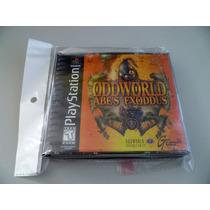 Ps1 Playstation One Oddworld Abe´s Exxodus Excelente!!