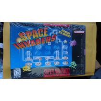 Space Invaders Snes Super Nintendo Completo Nuevo Y Sellado