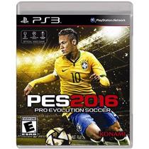 ..:: Pro Evolution Soccer 2016 ::.. Ps3 En Start Games