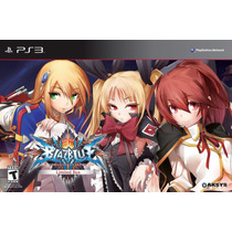 Blazblue: Chrono Phantasma Limited Edition Ps3