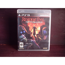Juego Ps3 Resident Evil Operation Raccoon City Completo Mdn