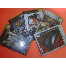 Lote Juego X Box Spiderman Blinx Soul Calibur Aquaman Game