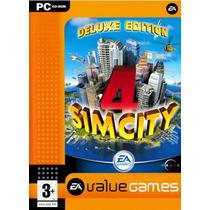Sim City 4 Deluxe Edition Juego Computadora 2 En 1 Vv4