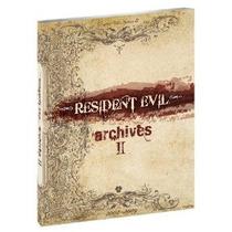 Libro De Arte Resident Evil Archives Vol 2 Nuevo D Coleccion