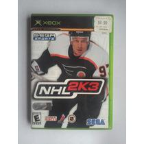 Nhl 2k3 Xbox Original Completo Buen Estado