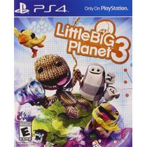 Ps4 - Little Big Planet 3 - Nuevo Y Sellado - Ag
