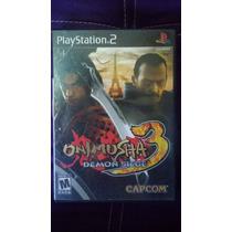 Onimusha 3 Demon Siege Ps2 *envio Gratis*