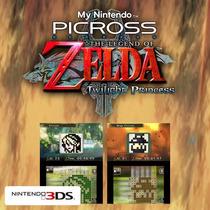 3ds Codigo The Legend Of Zelda Twilight Princes Picross,wiiu