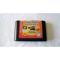 Arcade Classics Para Genesis Centipede Missile Command Pong