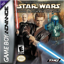 Juego Gameboy Advance Star Wars Attack Of The Clones