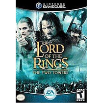 The Lord Of The Rings The Two Towers Game Cube Wii Anillos