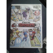 Deca Sports 3 Wii